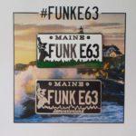 FUNK E63 Licence Plate