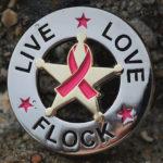 Live Love Flock Badge
