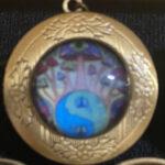 Horizon Locket Pin (Antique)