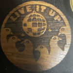 Wooden Live it Up (Mango)