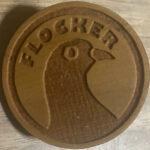 Wooden Flocker (Cherry)